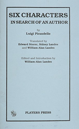 an analysis of the six characters in search of an author by pirandello luigi Six characters in search of an author (dover thrift editions) by pirandello, luigi and a great selection of similar used, new and collectible books.