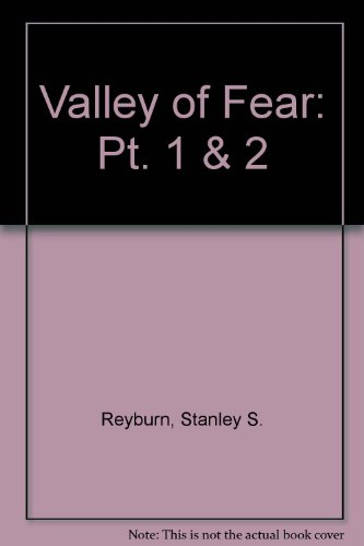 9780887347429: Valley of Fear: Pt. 1 & 2