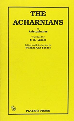 Acharnians: Aristophanes