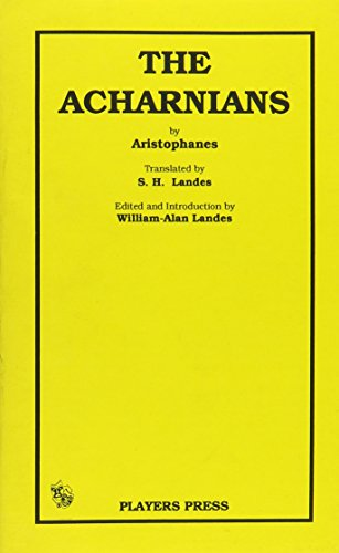 9780887348112: Acharnians