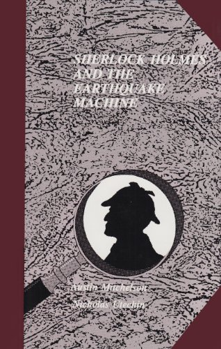 9780887349034: Sherlock Holmes and the Earthquake Machine