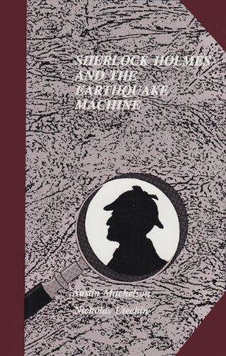 9780887349034: Sherlock Holmes and the Earthquake Machine