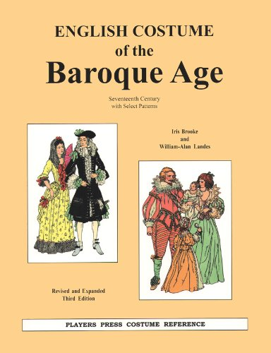 9780887349485: English Costume of the Baroque Age: Seventeenth Century With Select Patterns