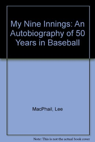 My 9 Innings: An Autobiography of 50 Years in Baseball