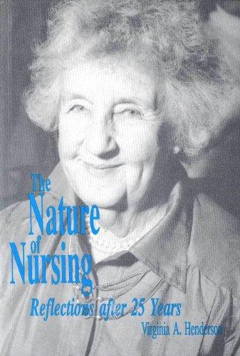 9780887374944: Nature of Nursing