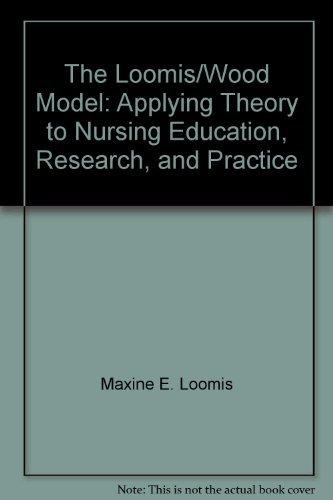 The Loomis Wood Model: Applying Theory to: Loomis, M. E.