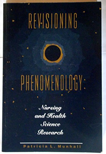 9780887375972: Revisioning Phenomenology: Nursing and Health Science Research