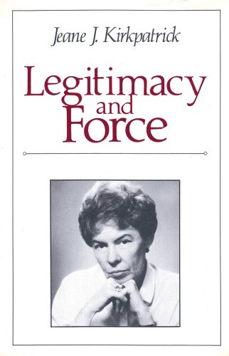 9780887381119: Legitimacy and Force: State Papers and Current Perspectives (2 Volume Set)