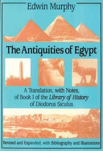 9780887383038: The Antiquities of Egypt: A Translation With Notes of Book I of the Library of History of Diodorus Siculus