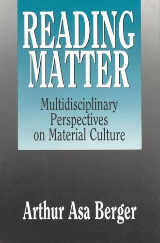 9780887384356: Reading Matter: Multidisciplinary Perspectives on Material Culture