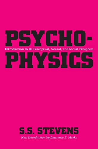 9780887386435: Psychophysics: Introduction to Its Perceptual, Neural and Social Prospects