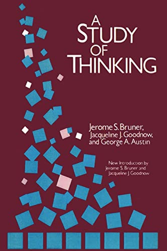 9780887386565: A Study of Thinking (Social Science Classics Series)