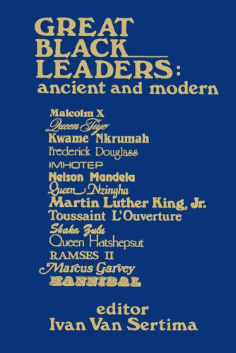 9780887387395: Great Black Leaders (Ser V9)Ppr: Ancient and Modern (Journal of African Civilizations,)