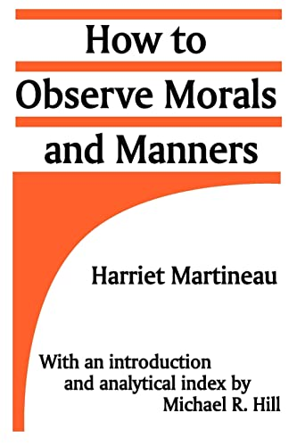 9780887387517: How to Observe Morals and Manners
