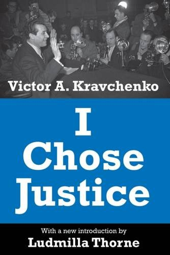 9780887387562: I Chose Justice (Library of Conservative Thought)
