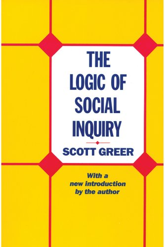 9780887387791: The Logic of Social Inquiry