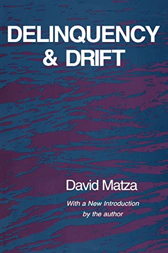 9780887388040: Delinquency and Drift