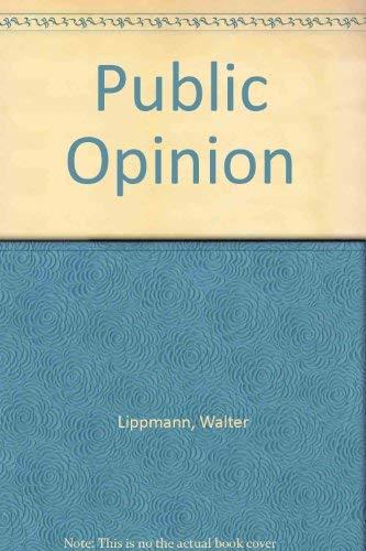9780887388613: Public Opinion