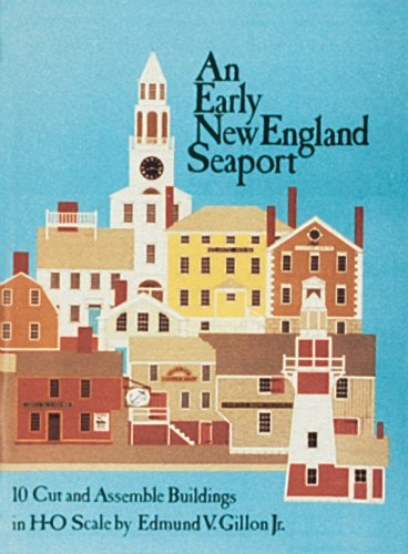 An Early New England Seaport: 10 Cut and Assembly Buildings in H-O Scale