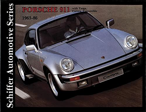9780887401695: Porsche 911 1963-1986: (Schiffer Automotive)