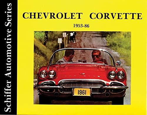 Chevrolet Corvette 1953-1986 (Hardback): Walter Zeichner