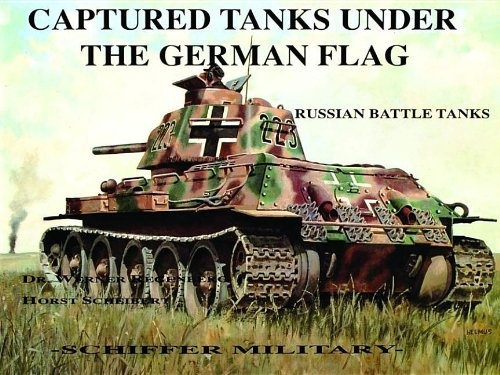 9780887402012: Captured Tanks Under the German Flag - Russian Battle Tanks: