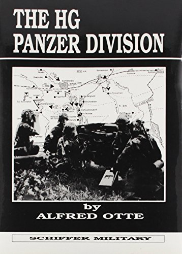 9780887402067: The HG Panzer Division (Schiffer Military)