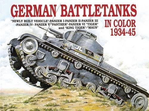 9780887402081: German Battle Tanks in Color: (Schiffer Military)