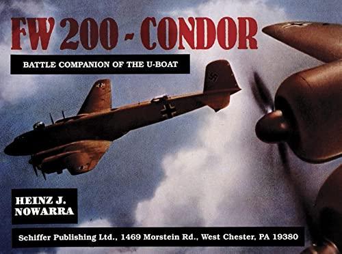 Focke-wulf Fw 200 Condor (Paperback): Heinz J. Nowarra