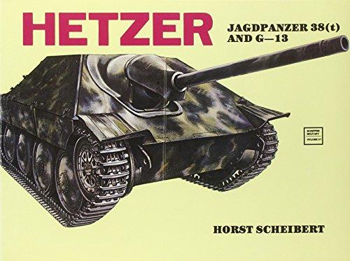 9780887402388: Hetzer Jagdpanzer (Schiffer Military History)