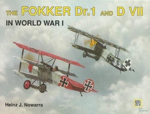 9780887403538: The Fokker Dr. I & Dvii in World War I