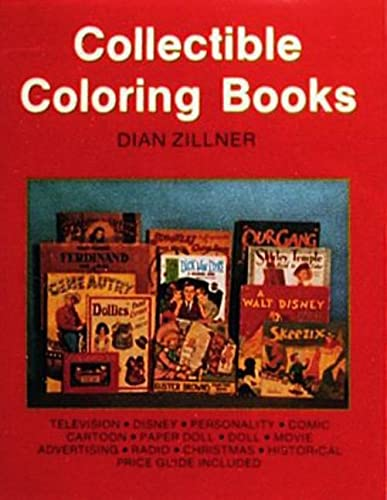 Collectible Coloring Books: Zillner, Dian