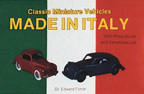 9780887404337: Classic Miniature Vehicles: Made in Italy