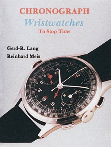 9780887405020: Chronograph Wristwatches: To Stop Time