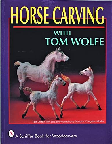 9780887406492: HORSE CARVING (Schiffer Book for Woodcarvers)