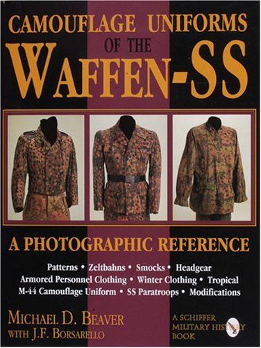 9780887408038: Camouflage Uniforms of the Waffen-SS: A Photographic Reference (Schiffer Military / Aviation History)
