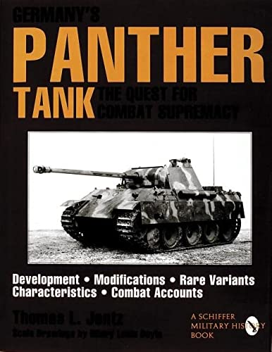9780887408120: Germanys Panther Tank: The Quest for Combat Supremacy (Schiffer Military/Aviation History)