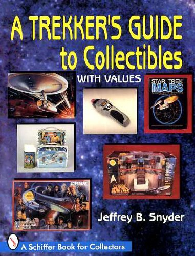 9780887409653: A Trekker's Guide to Collectibles: With Values (A Schiffer Book for Collectors)