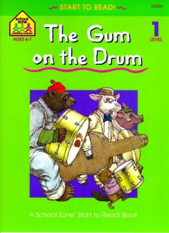 9780887430046: The Gum on the Drum - level 1 (Ages 4-7)