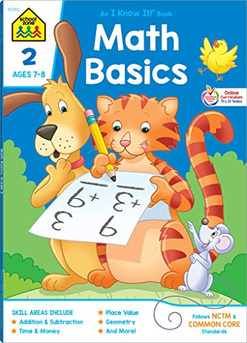 9780887431388: Math Basics 2 Deluxe Edition Workbook (Deluxe Edition 64-Page)