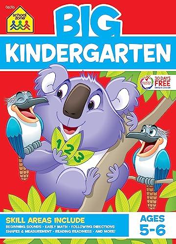 9780887431463: BIG Kindergarten Workbook - Ages 5 - 6