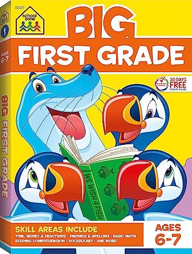 9780887431470: Big First Grade Workbook