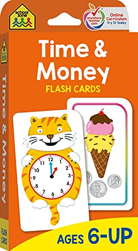 9780887432279: Flash Cards-Time and Money 50/Pkg