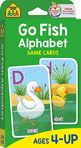 9780887432712: Game Cards-Go Fish