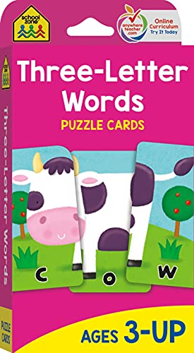 9780887432774: Puzzle Cards - Three-Letter Words