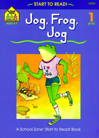 9780887434044: Jog, Frog, Jog - level 1 (Start to Read! Library Edition Series)