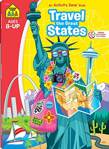 9780887435379: Workbooks-Travel the Great States Ages 8 and Up