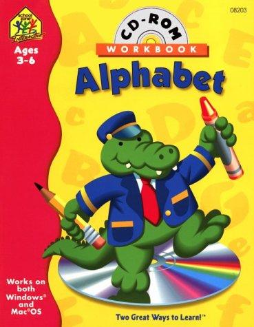 9780887435539: Preschool Alphabet Interactive Workbook (Preschool Alphabet Interactive Workbook with CD-ROM)