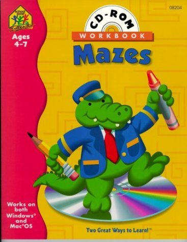 9780887435546: Preschool Mazes (Preschool Mazes Interactive Workbook with CD-ROM)