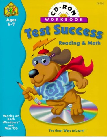 9780887435560: Test Success Interactive Workbook: Reading and Math (Test Success Reading & Math Interactive Workbook with CD-ROM)